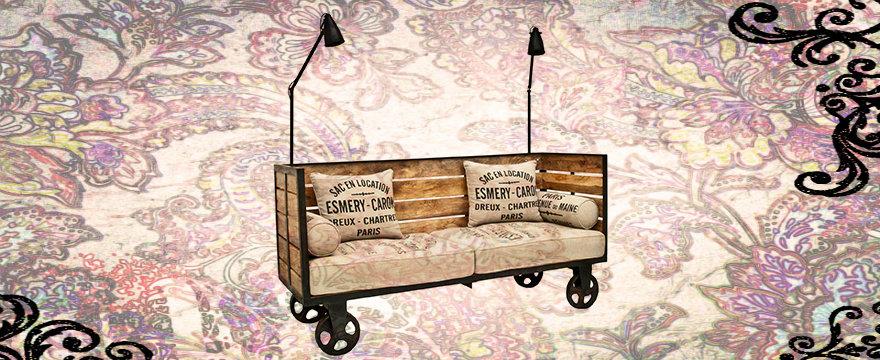 Мебель в индустриальном стиле: строгость VS уют