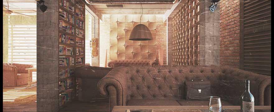 Оформление баров и клубов в стиле Лофт