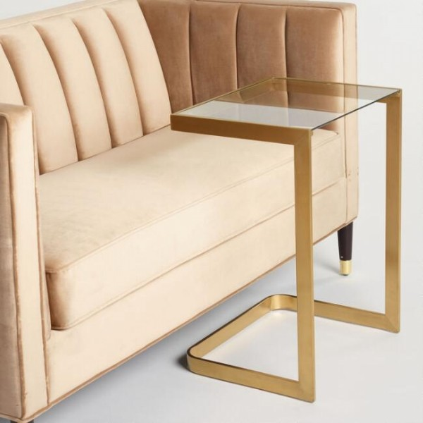 Столы Стол журнальный со стеклом New № 3 от New