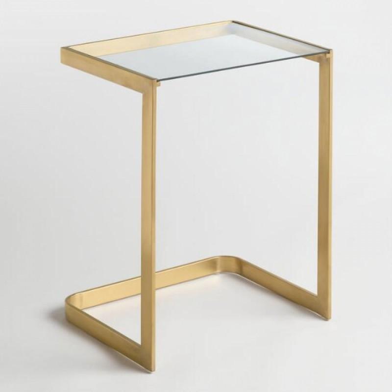 Стол журнальный со стеклом New № 3