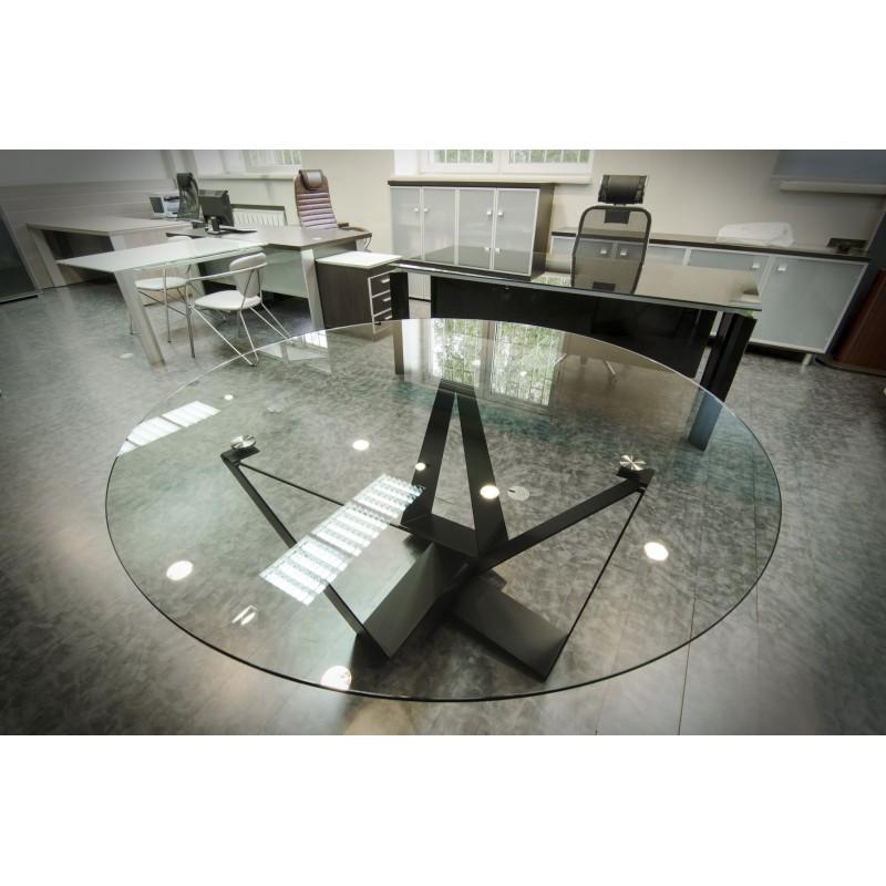 Стол со стеклом New № 2