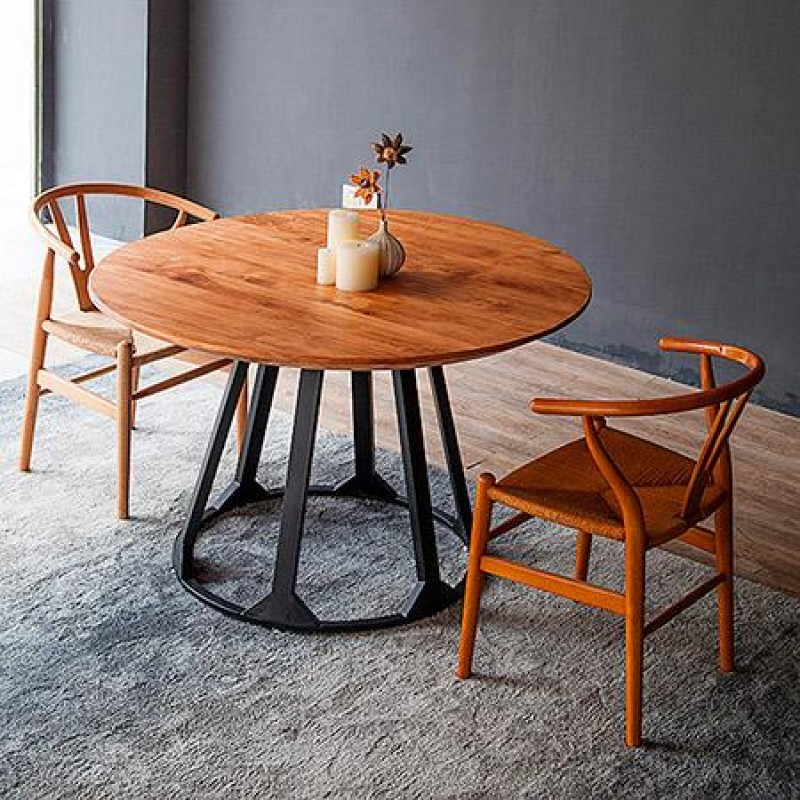 Обеденный стол круглый New №1