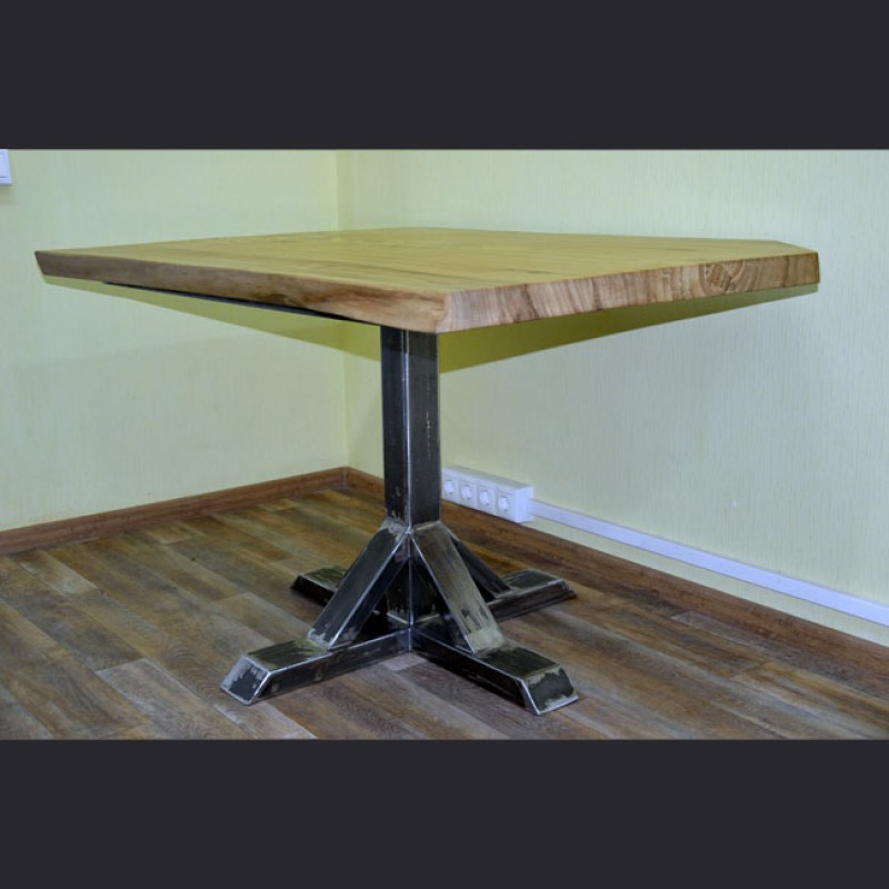Обеденный стол №1 «Лофт Слэб»